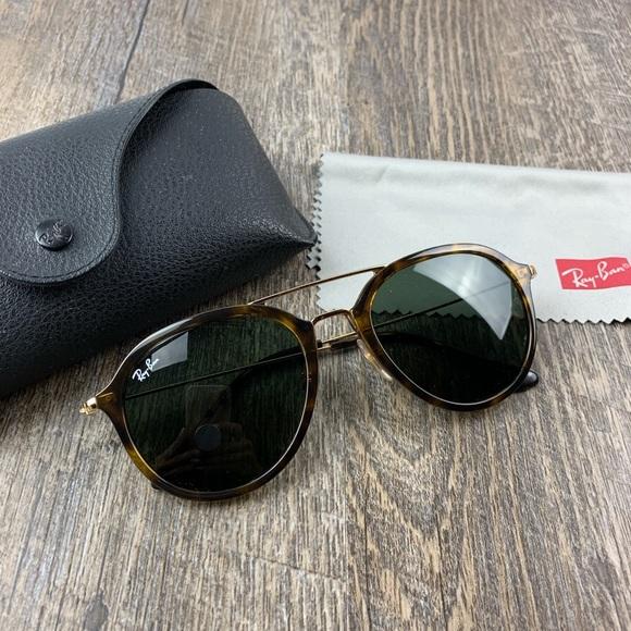 c6c323719f860 Ray-Ban Accessories   Ray Ban Rb4253 Tortoise Green Lens Sunglasses ...